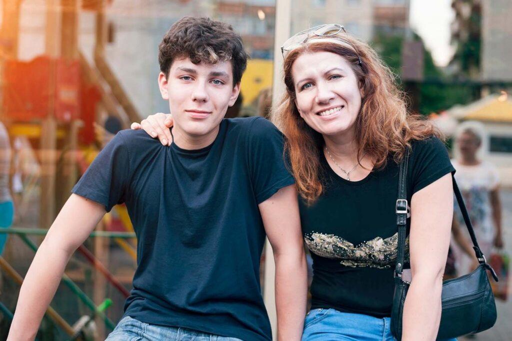 Familjehem för tonåringar
